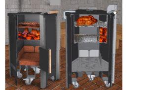 Grillen mit dem firefun Griller